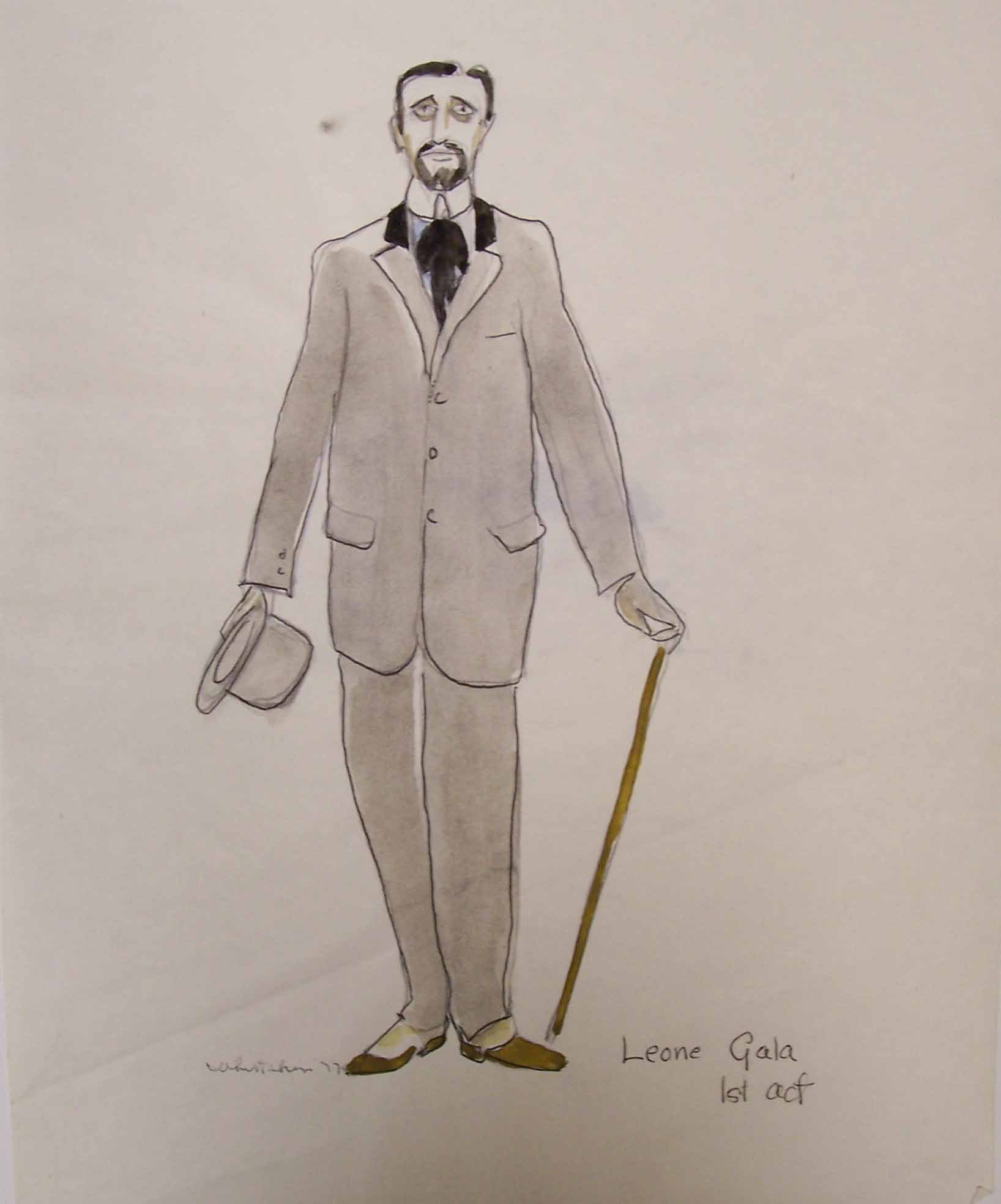 Whittaker costume design for Rules of the Game