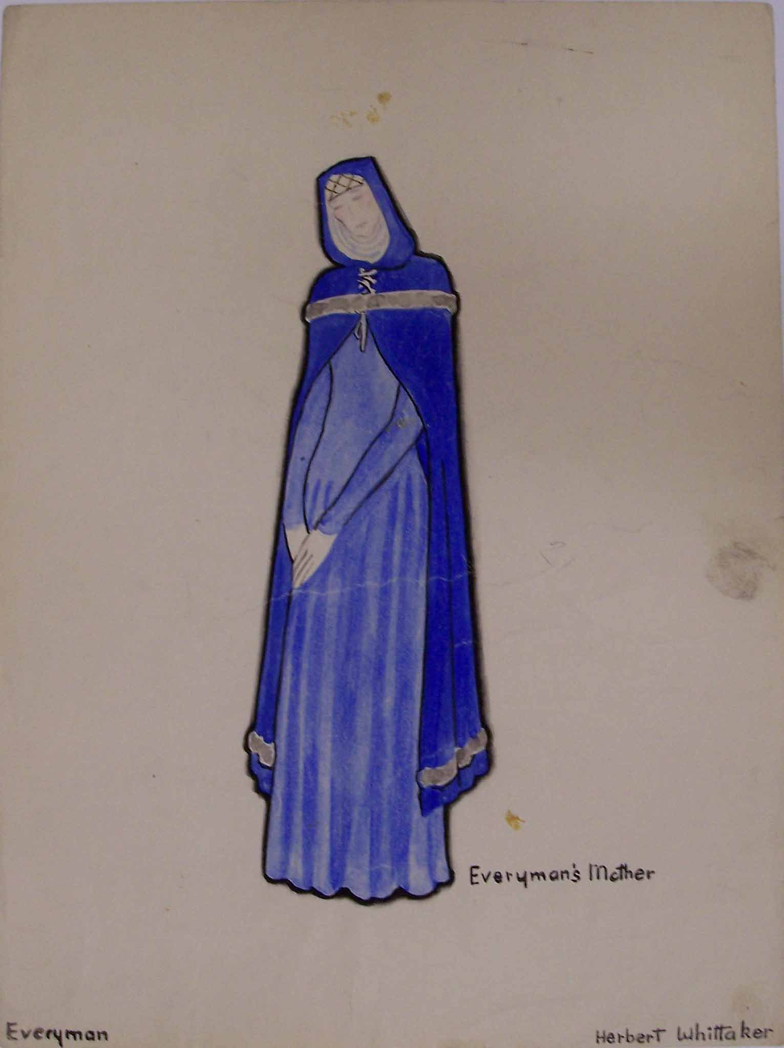 Whittaker costume design for Everyman