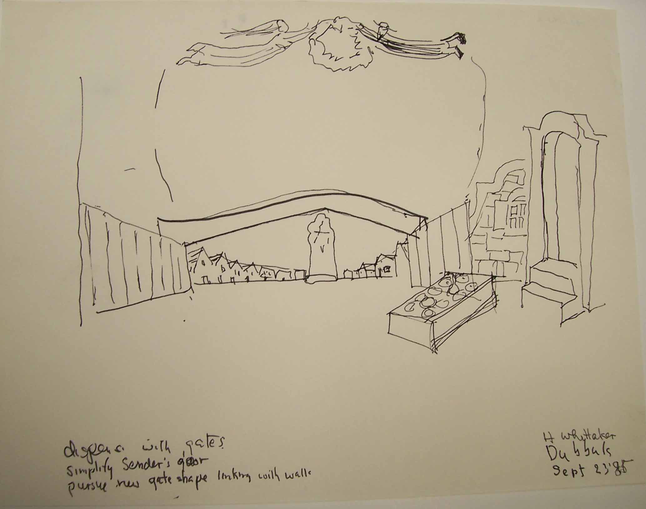 Whittaker set design for The Dybbuk