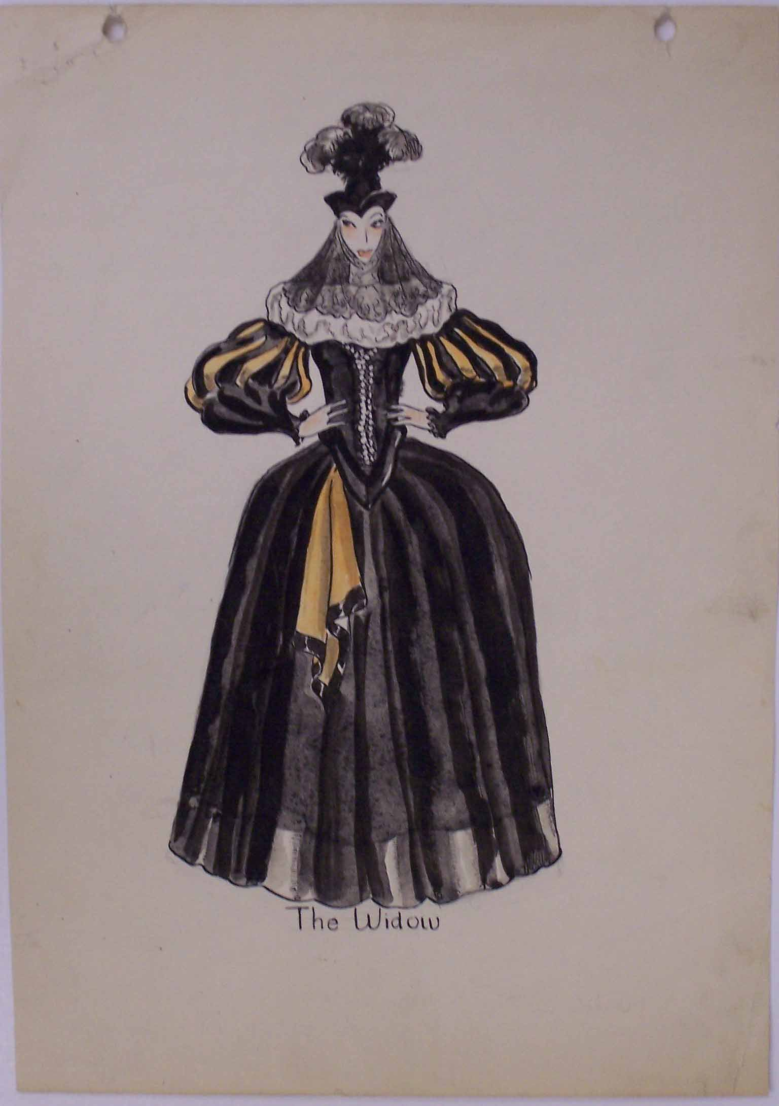 Whittaker costume design for The Taming of the Shrew