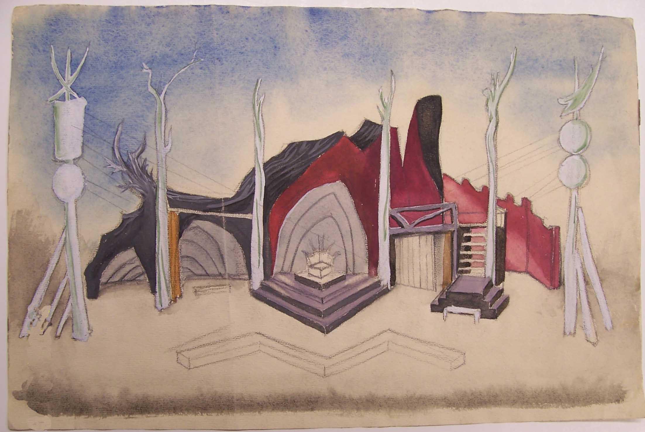 Whittaker set design for King Lear
