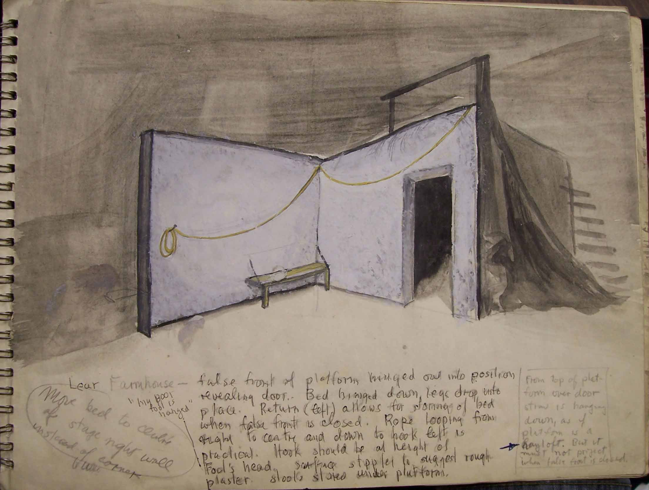 Whittaker set design for King Lear