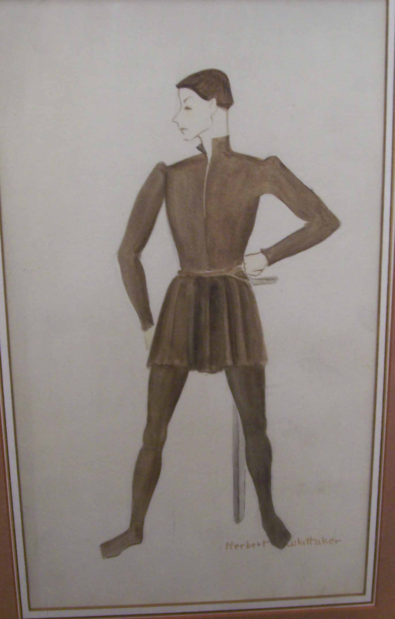 Whittaker costume design for Saint Joan
