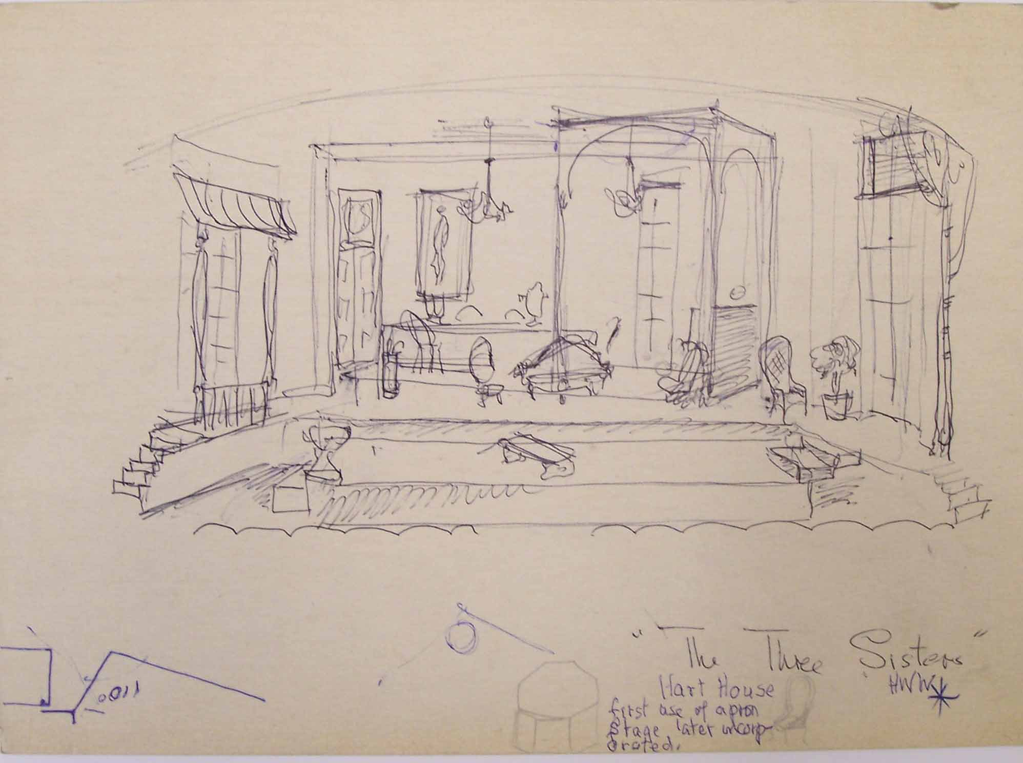 Whittaker set design for Three Sisters