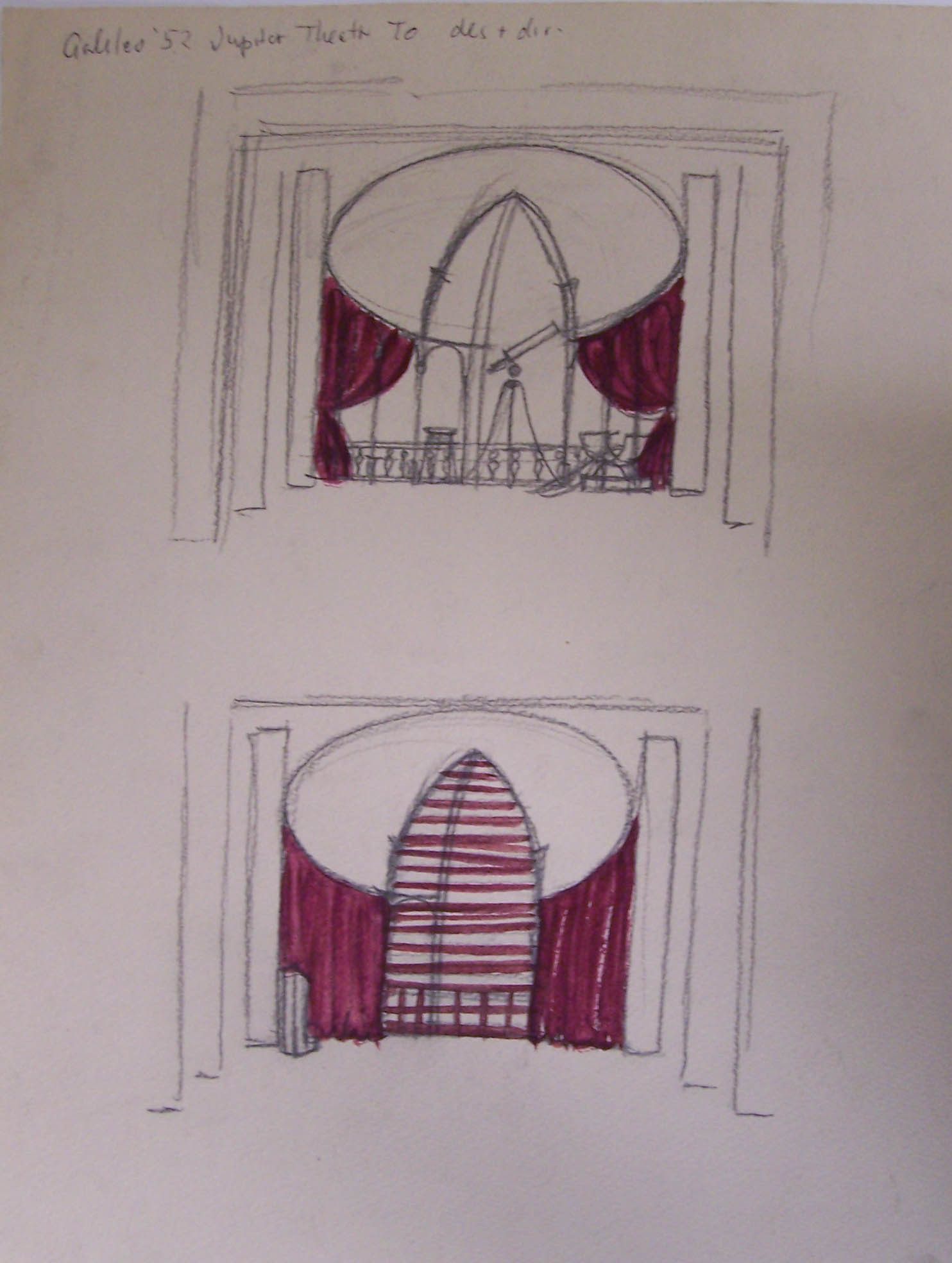 Whittaker set design for Galileo