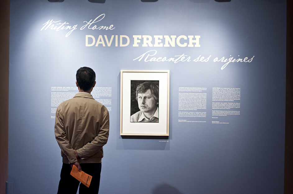 Man Looking at DAVID FRENCH
